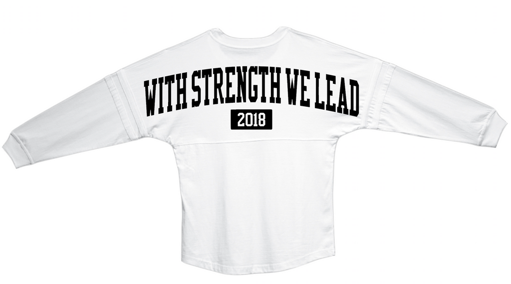 White West Point Motto Jersey