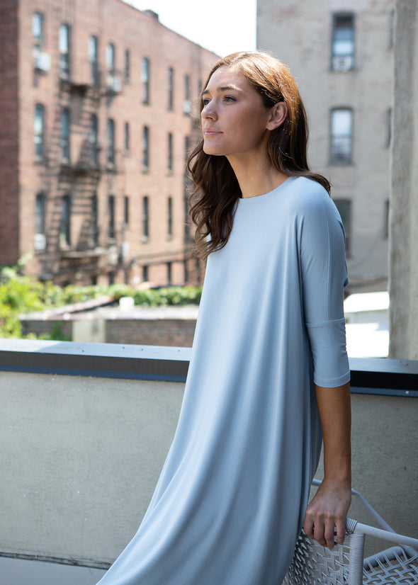 "FROCK ""CLASSIC"" (BARELY BLUE)"