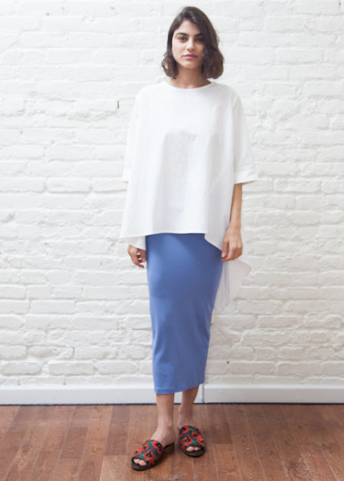 "SKIRT LEGGINGS ""SKY"" (SUMMER BLUE)"