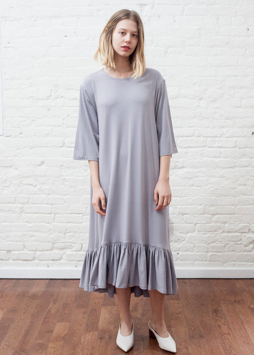 FROCK FLUTTER (ICE GRAY)