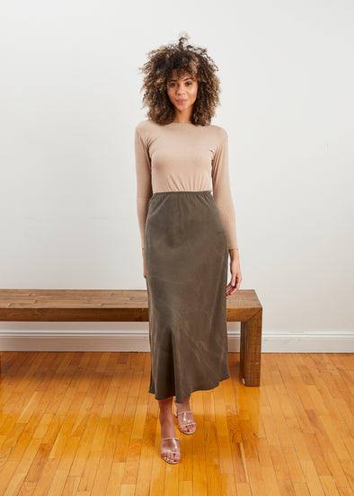 *PRE-ORDER* LUXE SKIRT (SAGE)