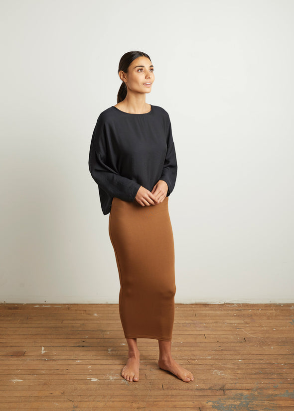 SKIRT LEGGINGS (CARAMEL)