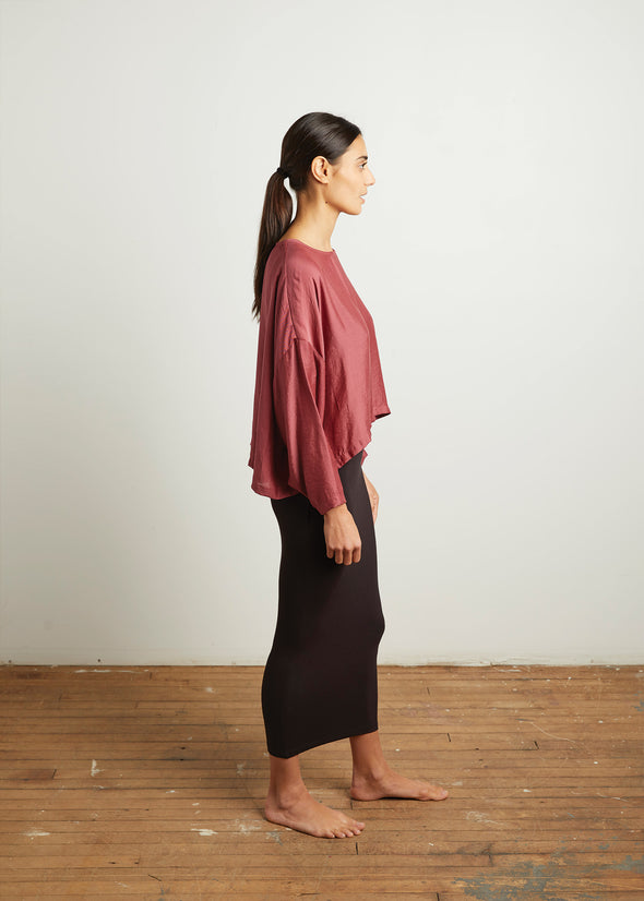 SLOUCH TOP (CRANBERRY)