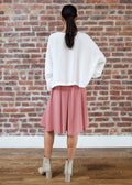 "PEEK SKIRT ""SILKY"" (ROSE)"