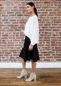 "PEEK SKIRT ""SILKY"" (BLACK)"