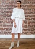 SQUARE DRESS (WHITE)