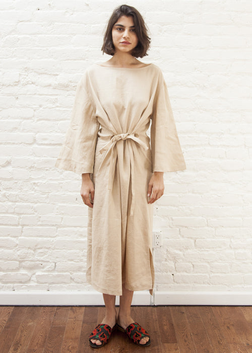 MOSES DRESS (SAND) *FINAL SALE*