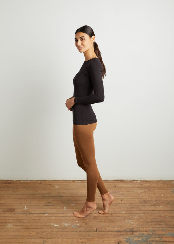 """LOYAL"" LEGGINGS (CARAMEL)"