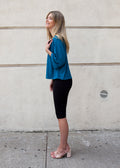 FLOATER TOP JERSEY (TEAL)