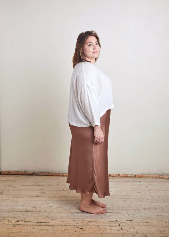 SLIP SKIRT (MOONLIGHT MAUVE)