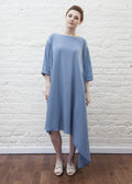 CASCADE DRESS (BLUE)