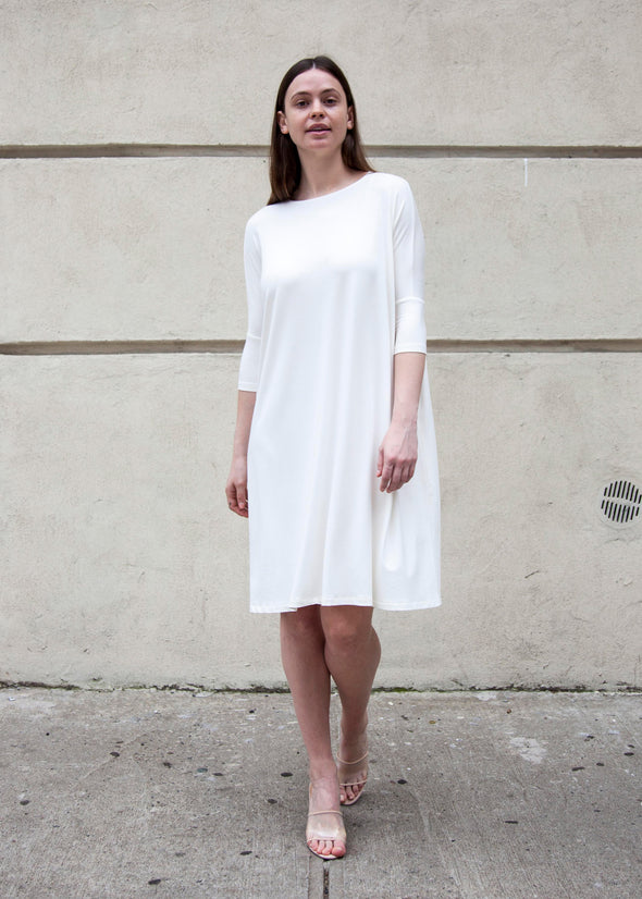 "FROCK ""CLASSIC"" (CREAM) *UPDATED LENGTHS*"