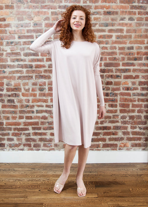 FROCK SQUARE (POWDER PINK) *UPDATED LENGTHS*