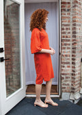 DRIFT DRESS (TANGERINE)