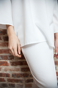 *RIBBED* SKIRT LEGGINGS (WHITE)