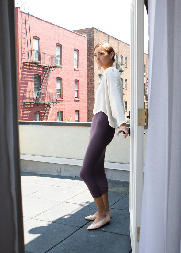 SKIRT LEGGINGS (POWDER PURPLE)
