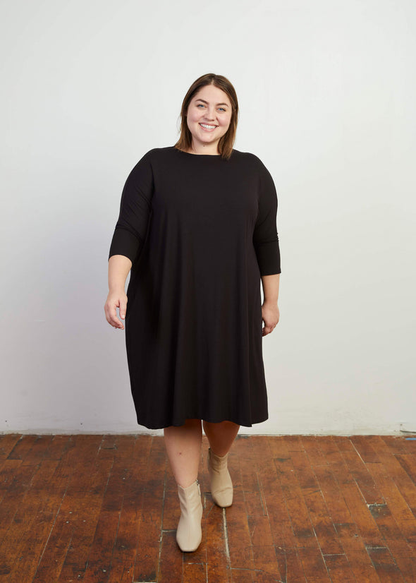 "FROCK ""CLASSIC"" (BLACK)"