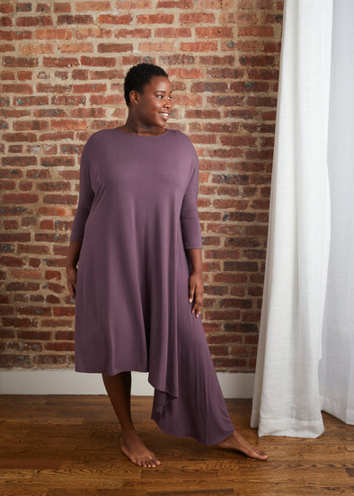 CASCADE DRESS JERSEY (POWDER PURPLE)