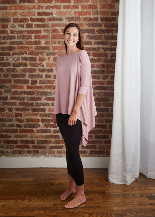CASCADE TOP JERSEY (MUTED MAUVE)