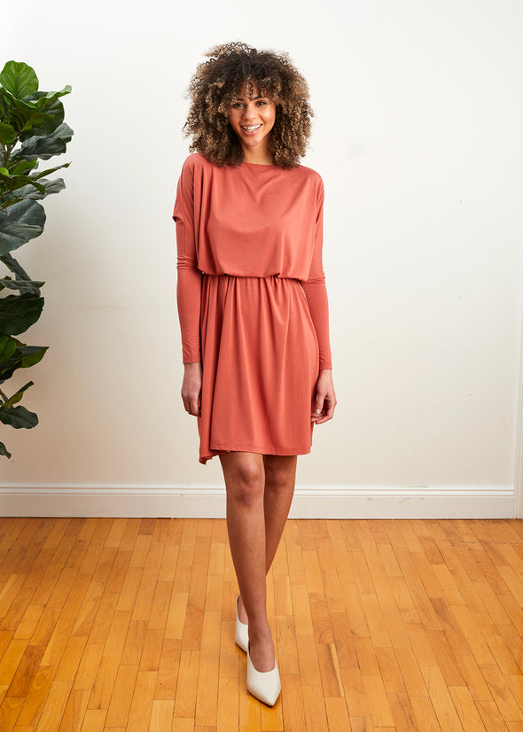 FROCK SQUARE (CORAL)