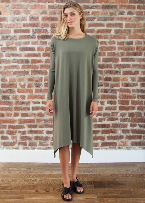 FROCK FULL (OLIVE)