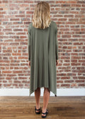 "FROCK FULL ""OLIVE"" (OLIVE GREEN)"