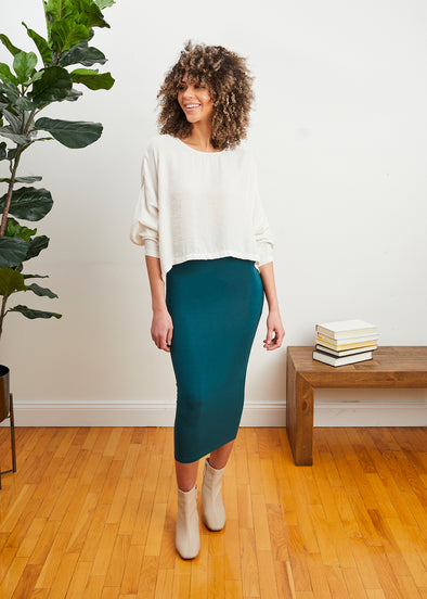 SKIRT LEGGINGS (JADE)