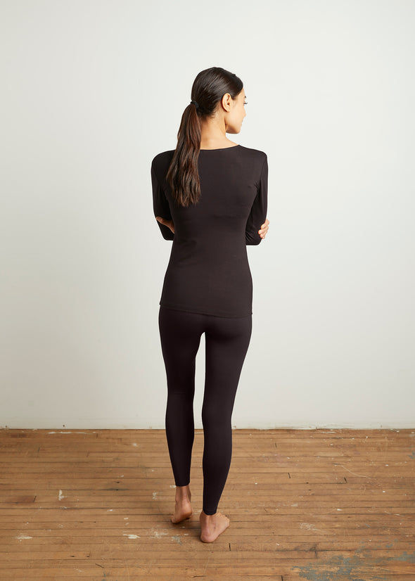 """LOYAL"" LEGGINGS (BLACK)"