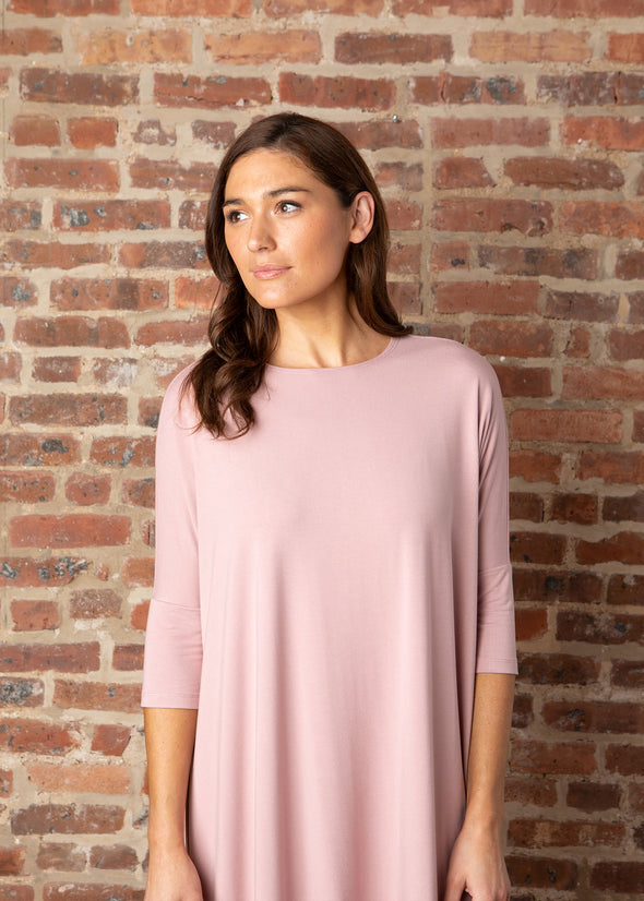 "FROCK ""CLASSIC"" (MUTED MAUVE)"