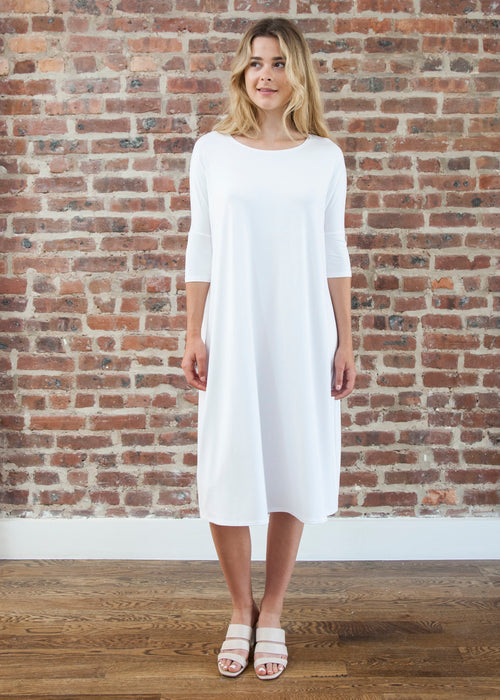 "FROCK ""CLASSIC"" (WHITE)"