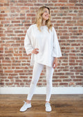 "MIMU ""LOYAL"" LEGGINGS (WHITE)"