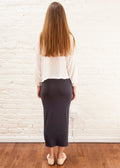 "SKIRT LEGGINGS ""Steel"" (GRAY)"
