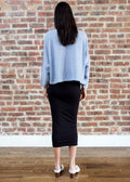 SLOUCH TOP (SKY)
