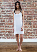 GOOD SLIP DRESS (WHITE)