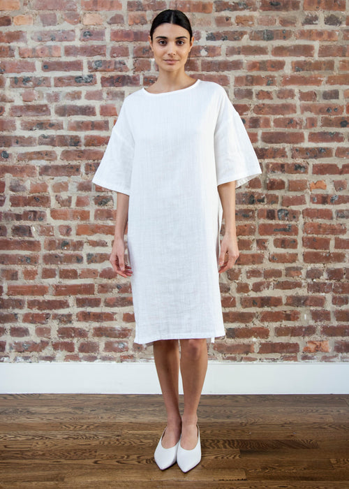 DRIFT DRESS (WHITE)
