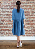 SMOCK DENIM *ONE LENGTH* (SHORT)