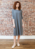 "*RIBBED* FROCK ""CLASSIC"" (GRAY)"