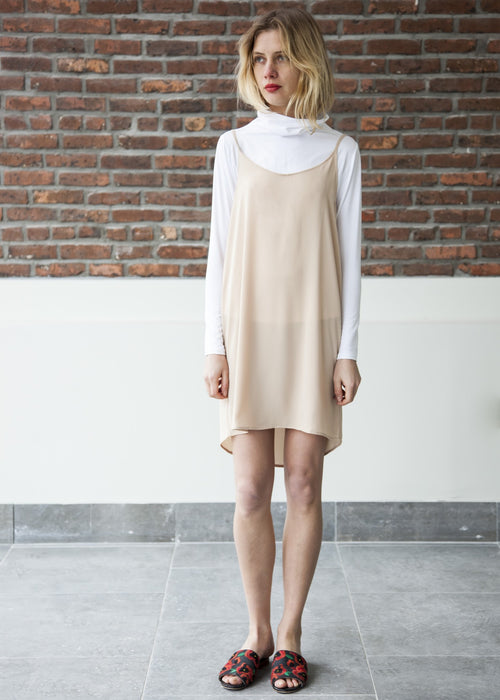 GOOD SLIP DRESS (Nude)