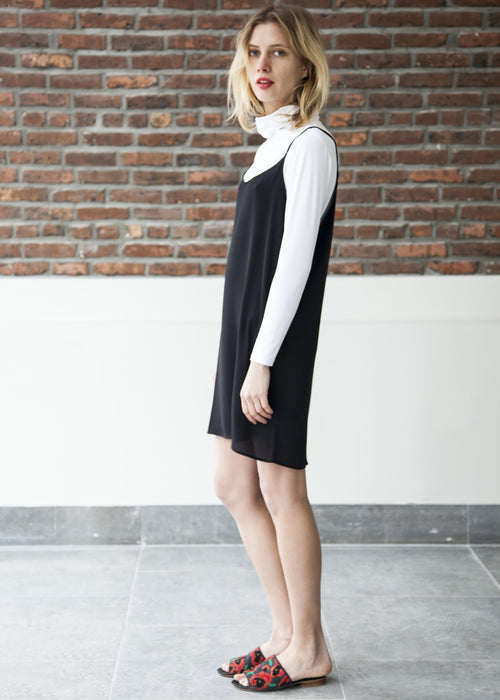 THE GOOD SLIP — DRESS (Black)
