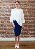 SKIRT LEGGINGS MIDI  (ROYAL BLUE)