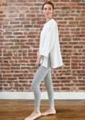 """LOYAL"" LEGGINGS (LIGHT GRAY)"