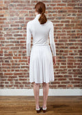 PEEK SKIRT JERSEY (WHITE)