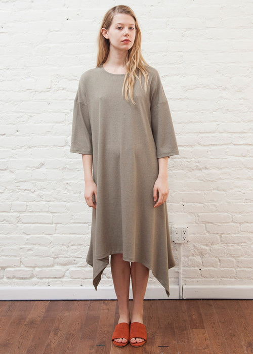 EDGE DRESS (BEIGE)