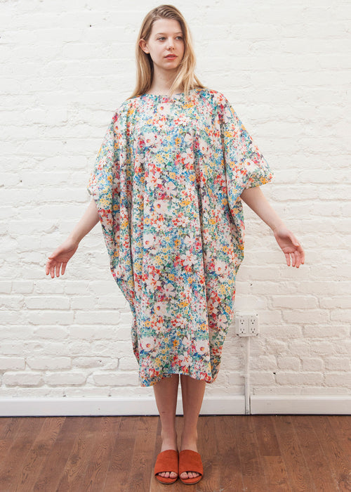 """GARDEN"" SQUARE DRESS (MIMU MIXED)"