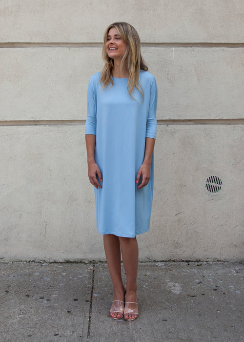"FROCK ""CLASSIC"" (SKY) *UPDATED LENGTHS*"