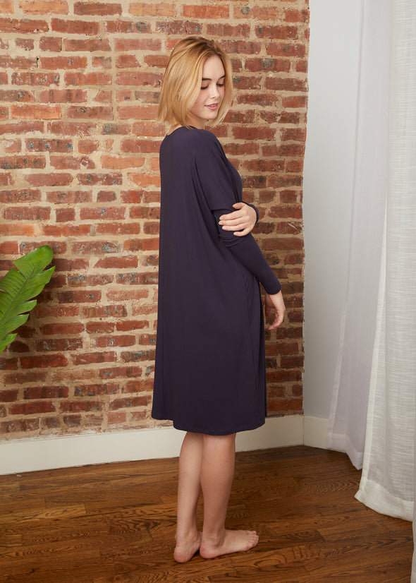FROCK SQUARE (NAVY)