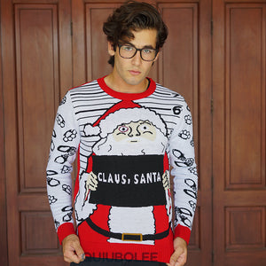 Ugly Christmas Sweater Santa Cárcel