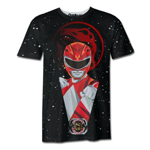Playera Pijama Red Ranger All Stars - QUIUBOLEE