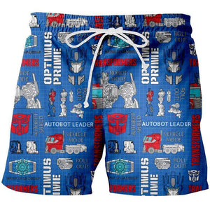 Short Pijama Transformes Optimus - QUIUBOLEE