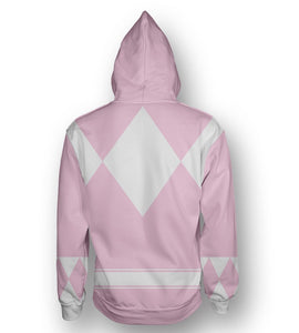 Sudadera Power Rangers Rosa Original